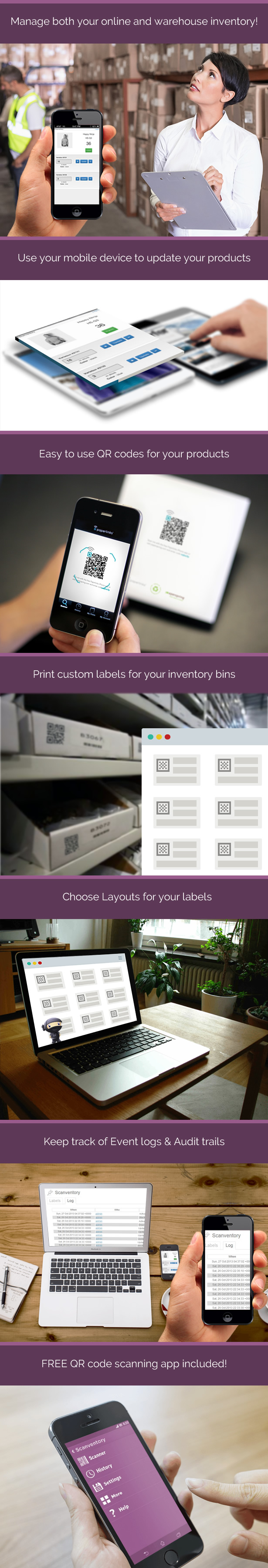 Woocommerce Mobile Inventory Management 1